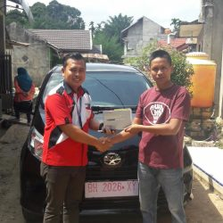 Foto Penyerahan Unit 8 Sales Marketing Mobil Dealer Toyota Jambi Numan