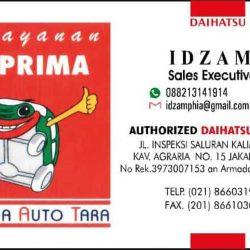 DO 3 Sales Marketing Mobil Dealer Daihatsu Idzam